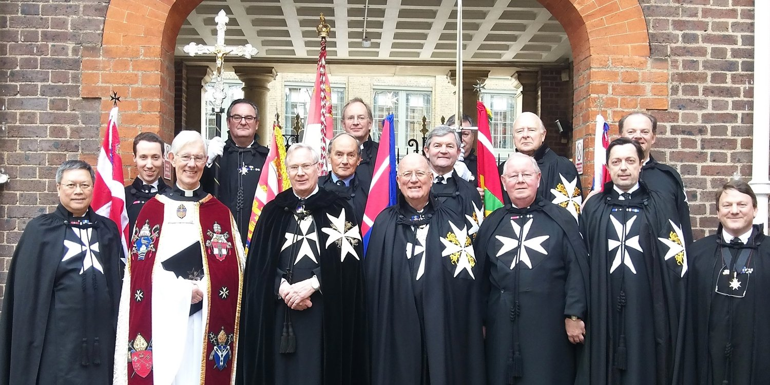 The Installation of new Chancellor of The Order of St John