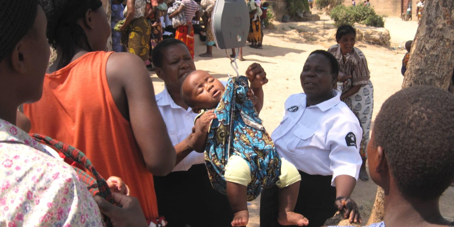 St John Scotland launches support for the Mother and Baby Programme in Africa