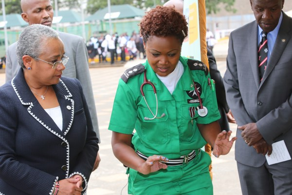 First Lady of Kenya praises St John  work on maternal and child health
