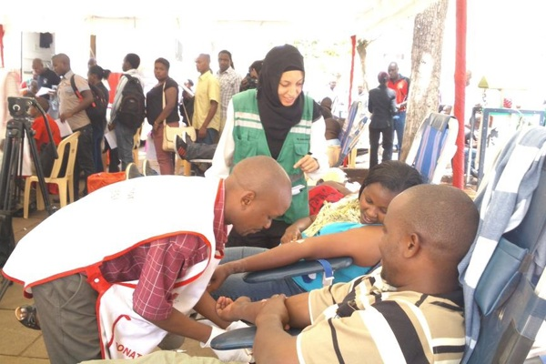 St John Ambulance Kenya holds blood donation drive to help Garissa University attack victims