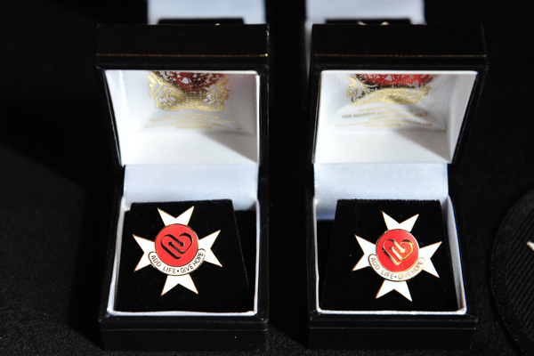 The Order of St John Award for Organ Donation