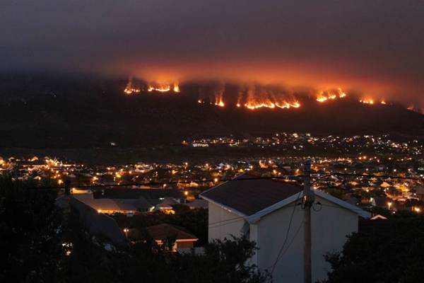 Cape Town fire: St John South Africa leaps into action
